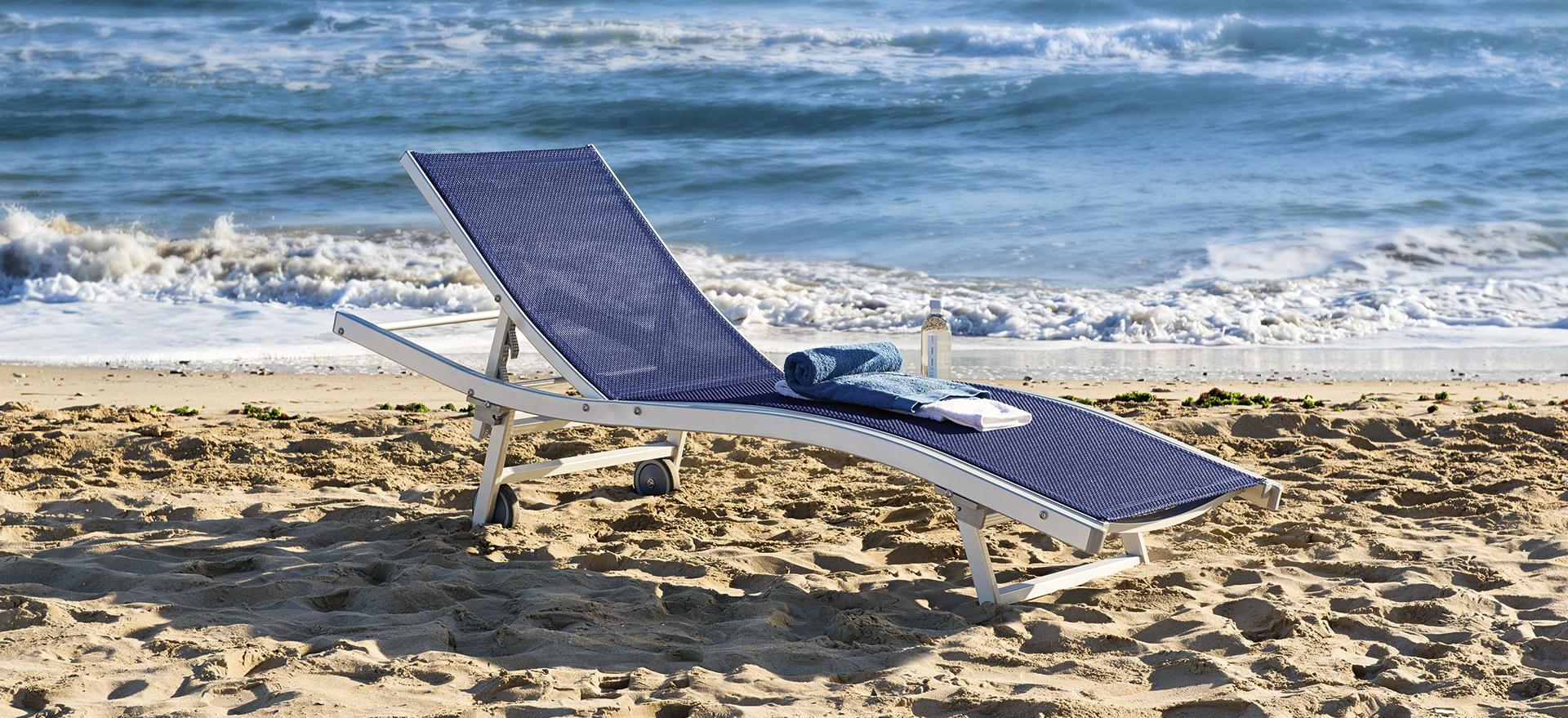 Sdraio Da Spiaggia Con Ruote.Tessitura Selva S R L Fornitori Stabilimenti Balneari