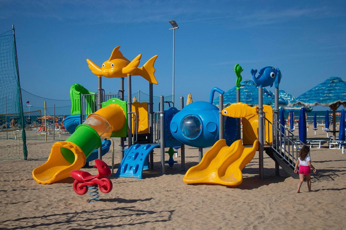 playground spiaggia