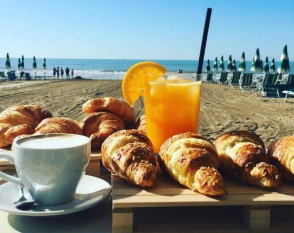 colazione spiaggia