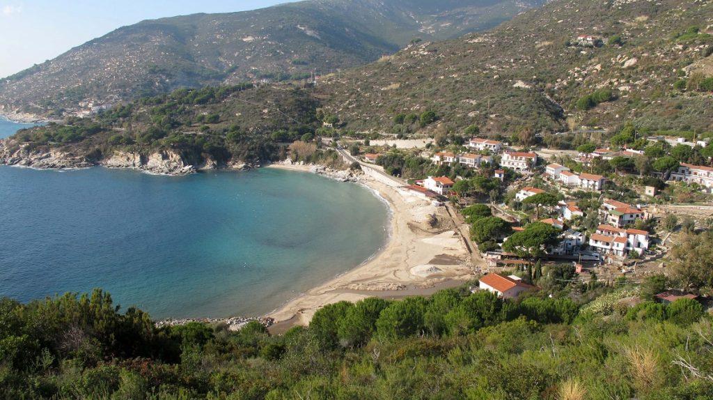 Spiaggia Cavoli Isola Elba