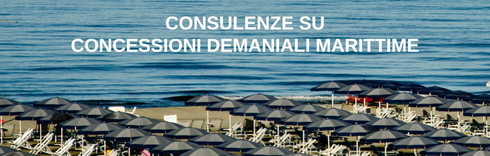 consulenze concessioni demanio marittimo