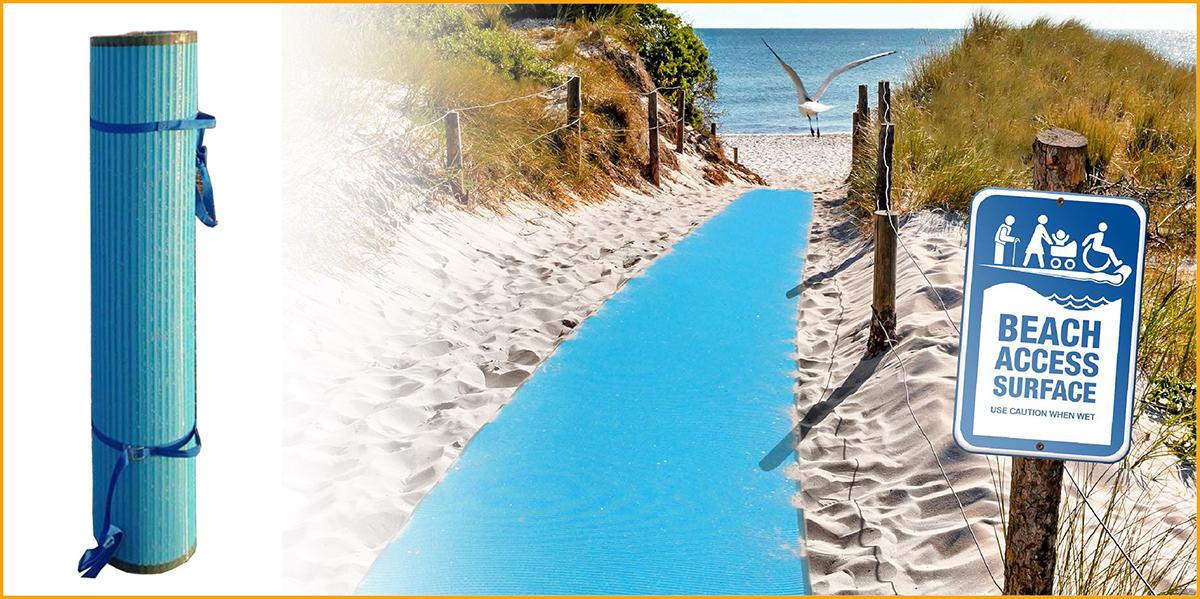 Tappeto Arrotolabile da Spiaggia