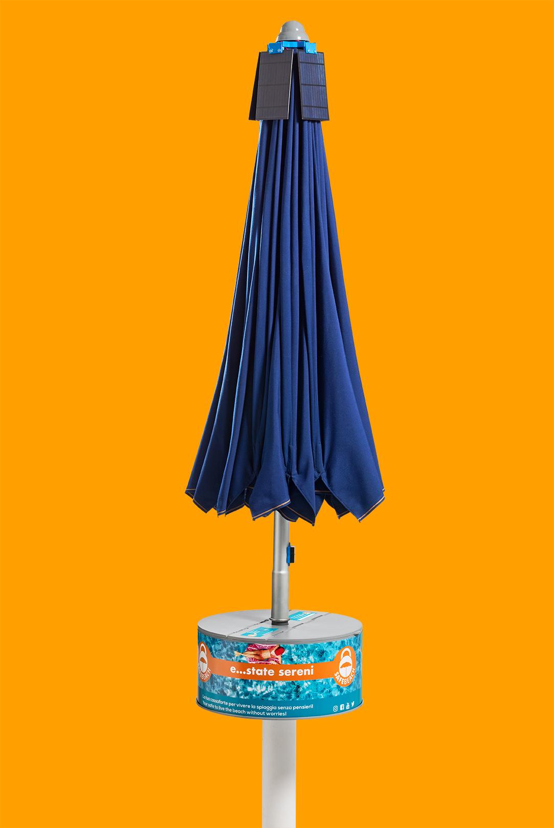 Safebeach - Cassaforte per ombrelloni