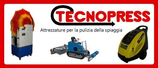Tecnopress - Macchine per la pulizia della spiaggia