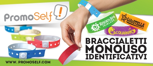 Promoself - Braccialetti identificativi monouso