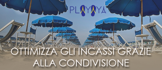 Playaya - Lo sharing dell'ombrellone