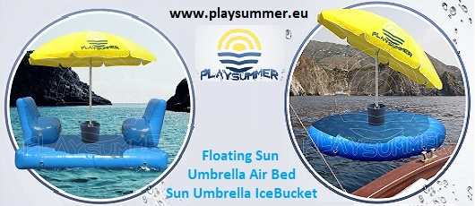 Lettini galleggianti Playsummer