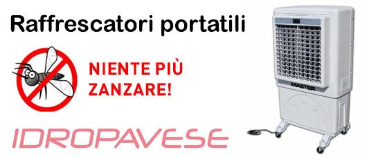 Idropavese - Raffrescatori anti zanzare