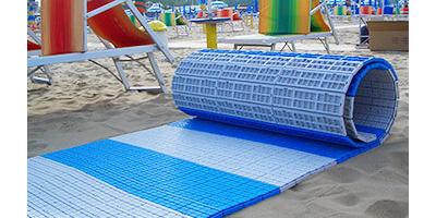 Fast-Floor, il camminamento srotolabile per la spiaggia
