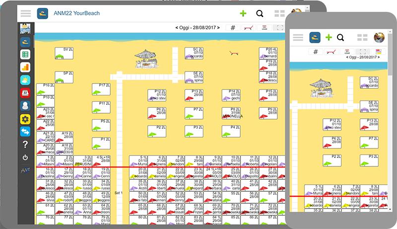YourBeach, tutti i servizi di spiaggia in un'unica applicazione