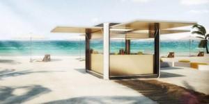 Cubox, il futuro del bar in spiaggia
