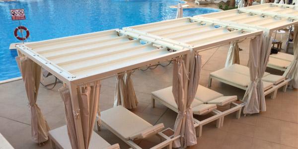 Sprech: coperture e tensostrutture per stabilimenti balneari